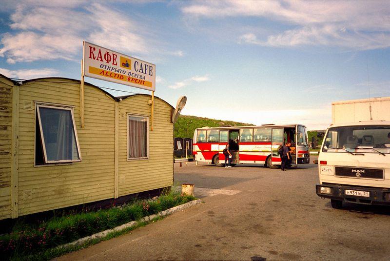 Busreis naar Moermansk