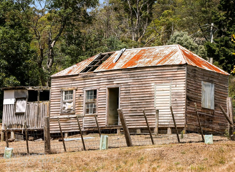 Abandoned House, Derby , Tasmania