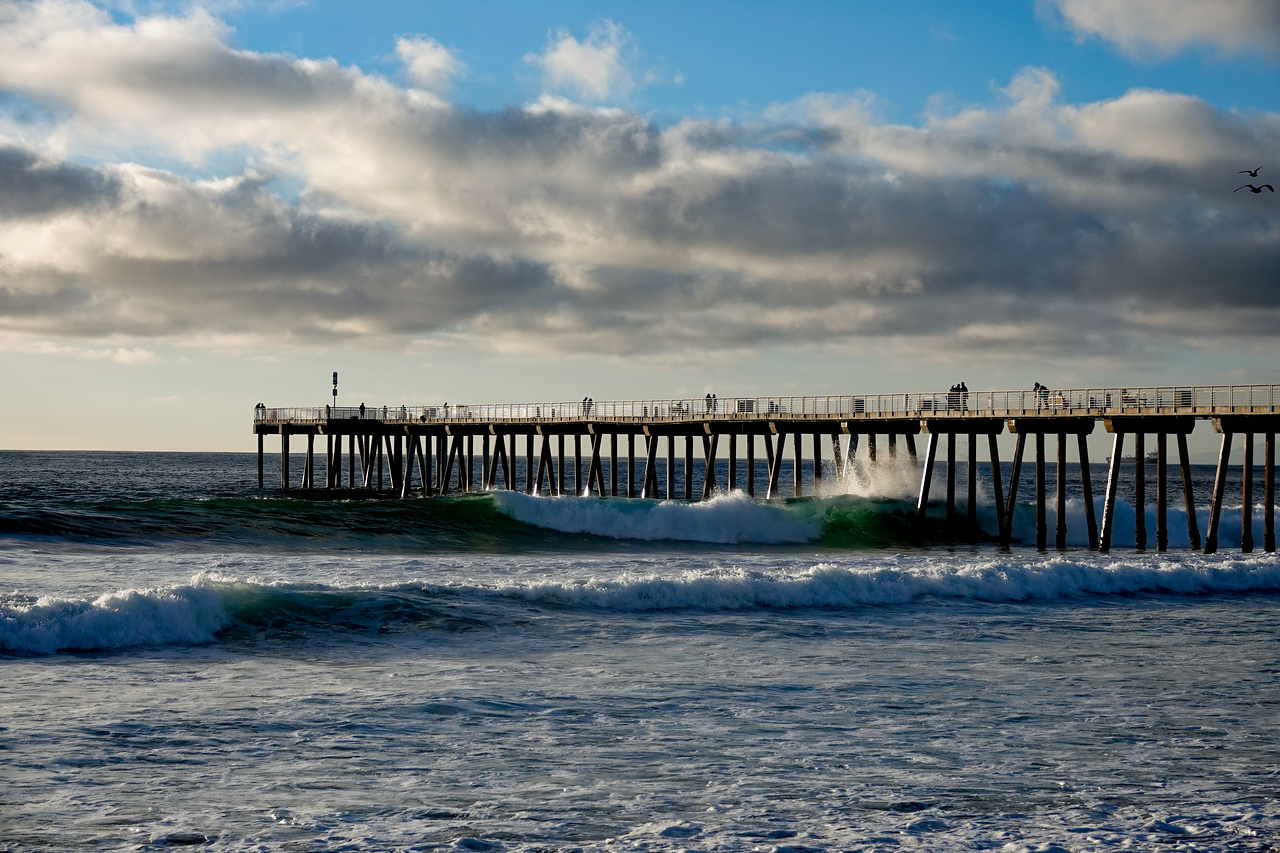 The Hermosa Beach Pier by Jefferson Graham