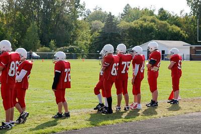 Boys 8th Grade Football - 2010-2011 - 9/15/2010 Grant JG