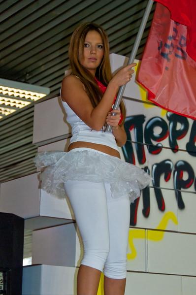1st gaming TV girl at Igromir 2009