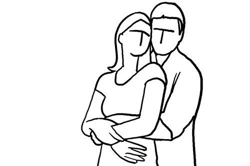 拍摄姿势系列 - 情侣怎么拍照留念zz - 一镜收江南 - 清韵