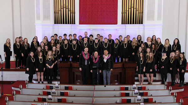 20190217  TRHS Chorus and Chamber Choir at FCC Bradford