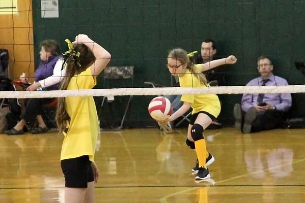 Bison Volleyball Club AAU 12U Scrimmage 2/12/2017