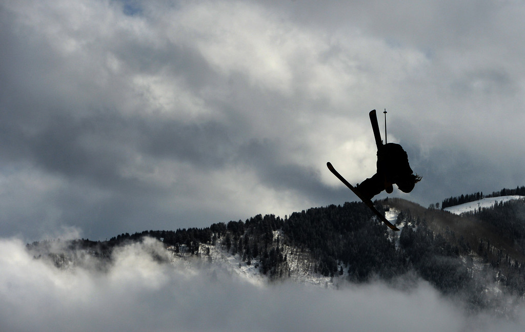. ASPEN, CO. - JANUARY 27:  Henrik Harlaut got silver during the Ski Slopestyle Men\'s Final, January 27, 2013. The 2013 Winter X Games at Buttermilk Mountain in Aspen. (Photo By RJ Sangosti / The Denver Post)