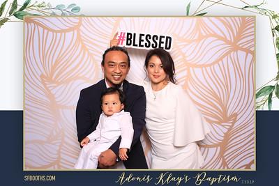 Adonis Klay's Baptism - July 13, 2019