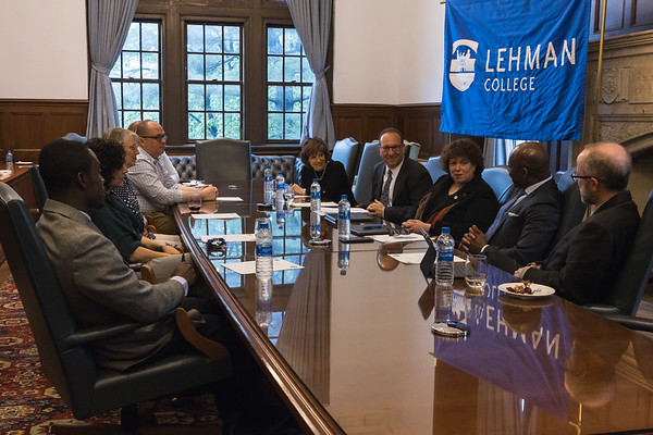 LS 125-2019 Lehman and Touro College PharmD Agreement Signing