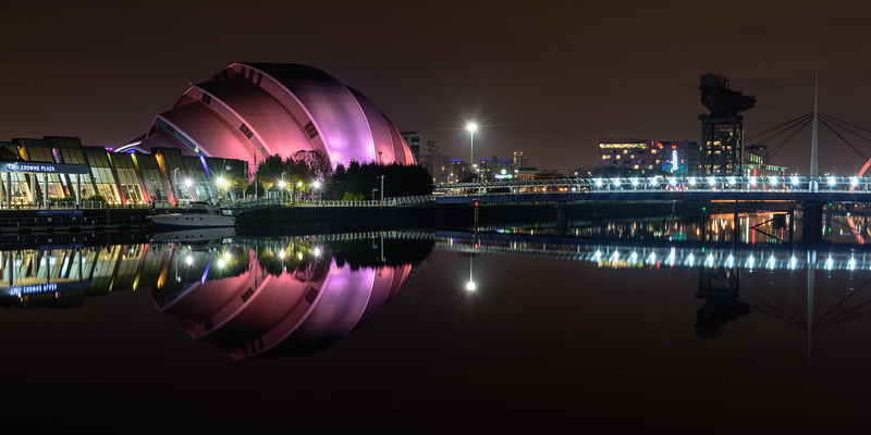 Armadillo Auditorium at Glasgow SEC