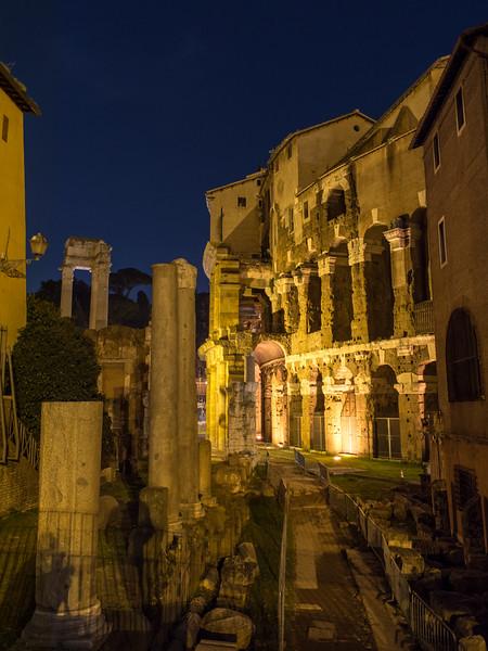 Temple of Apollo Sosianus and the  Theatre of Marcellus