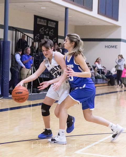 2019-12-13 Hillsdale Academy JV Girl's Basketball vs Lenawee Christian - Varsity Girl's Basketball vs. Waldron