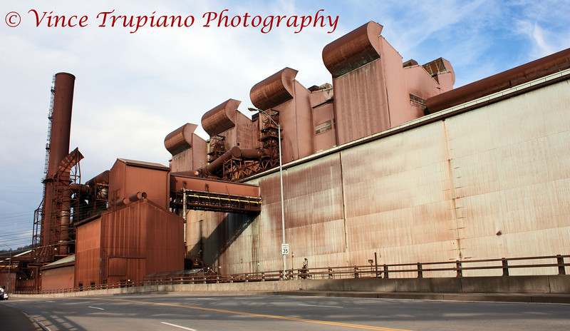 The Remains of the former Weirton Steel Company in Weirton, WV -12/2011