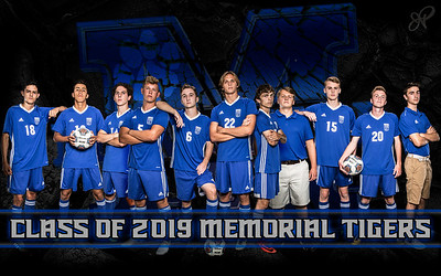 Memorial Boys Soccer Class of 2019