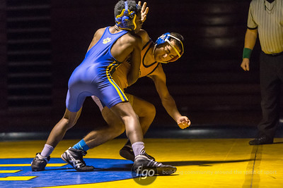 12-17-15 Minneapolis Washburn v Minneapolis Edison Wrestling