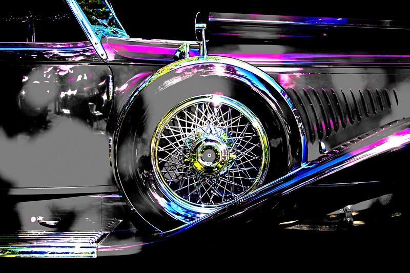 1931 Duesenberg - colorized