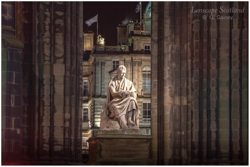Sir Walter Scott statue, Scott Monument (2)
