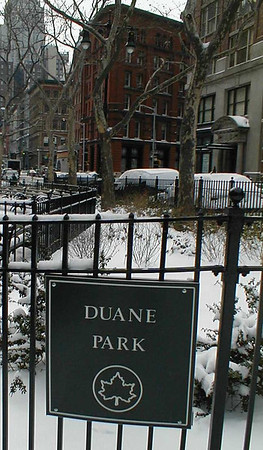 Duane Street Park