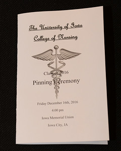 Pinning Ceremony December 2016