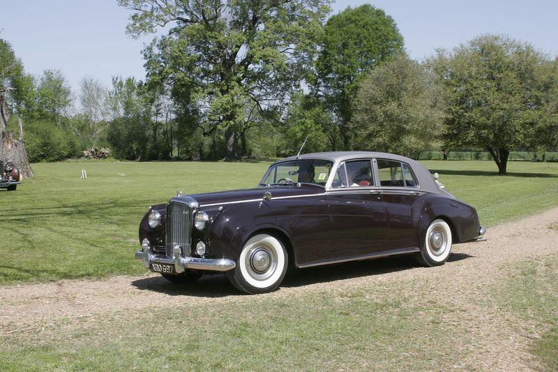 Bob & Betty Berg<p>1956 Bentley S1