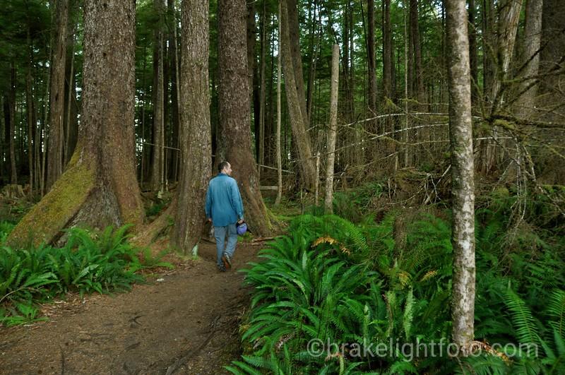 Hiking at Grant Bay