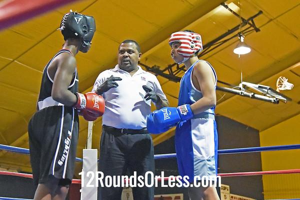 2=Bout #2:  Khalid Muhammad, Beatty Rec., Columbus, OH   vs   Matthew Taylor, Freddies Boxing Club,  106 Lbs.