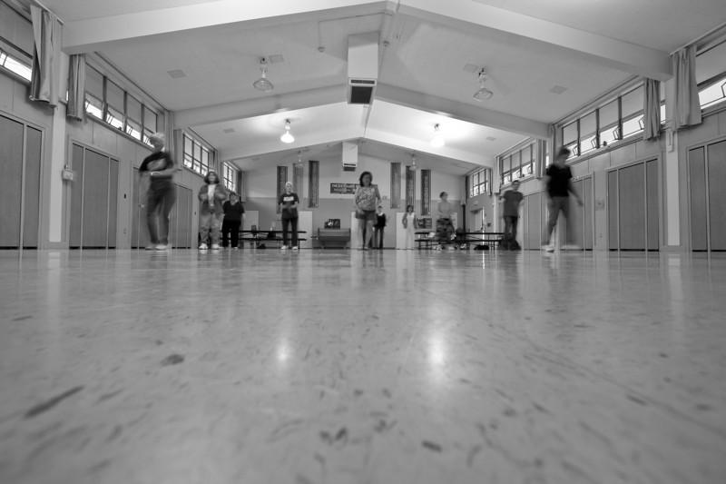 Dancing Blur