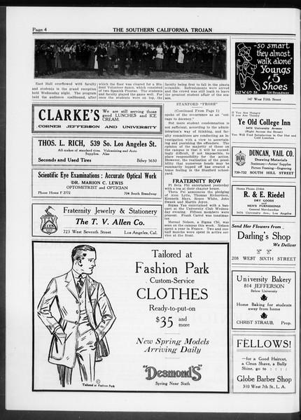The Southern California Trojan, Vol. 10, No. 3, February 27, 1919