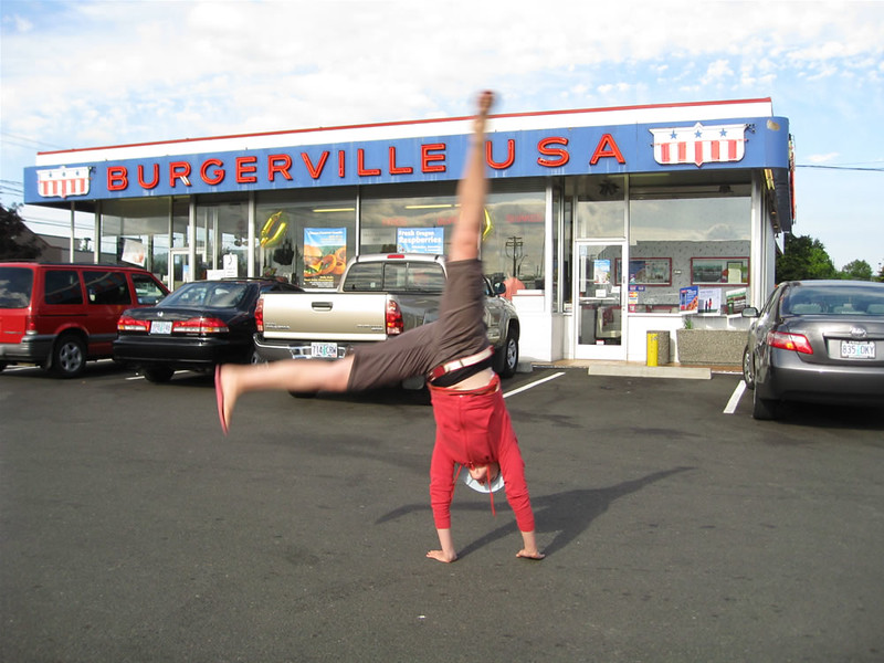Stacee Calderon - Burgerville, Beaverton, OR - 8/2008