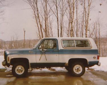 1977 Dad's Chevy Blazer