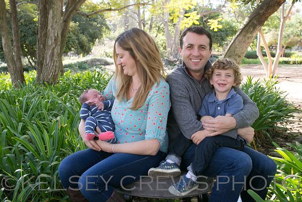 Santa Barbara Alice Keck Park Family Photography