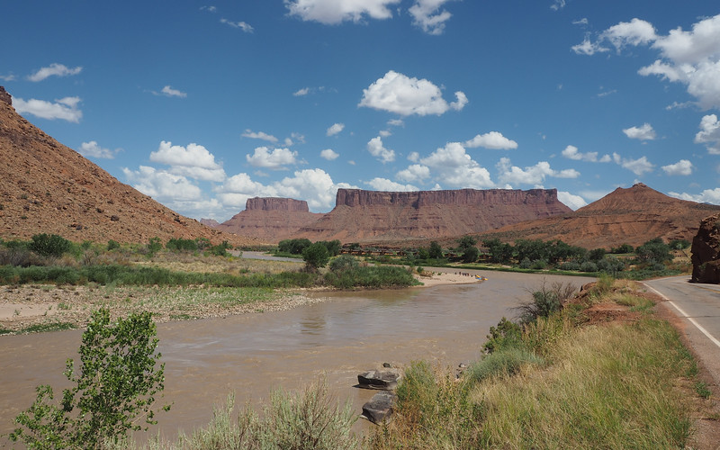 Colorado River and Red Cliffs Lodge