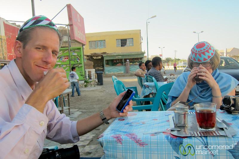 Egyptian Tea in El Quseir, Egypt