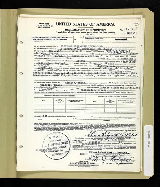 1946 nat Florence Sutherland LA CA.jpg