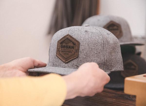 OMO & Mew & Co - Leather Snapbacks