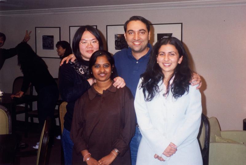 Uma Devi, Gitanjali Talwar and Chen Chonmin - all friends from APNIC meeting held in Seoul, South Korea.