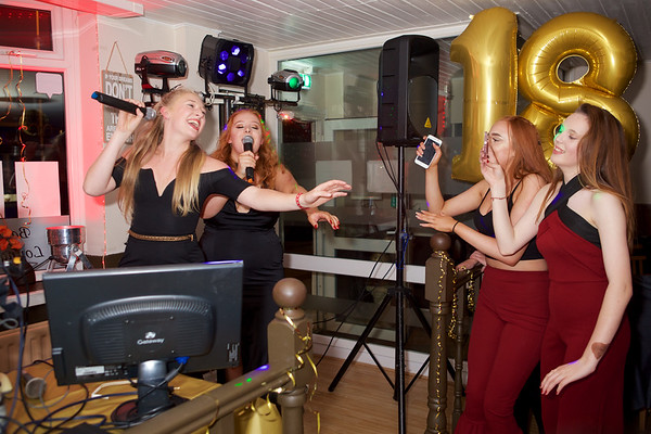Chantelle's 18th Birthday party plus sunflower photo's