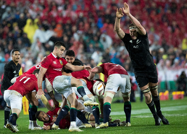 Conor Murray during game 9 of the British and Irish Lions 2017 Tour of New Zealand, the second Test match between  The All Blacks and British and Irish Lions, Westpac Stadium, Wellington, Saturday 1st July 2017 (Photo by Kevin Booth Steve Haag Sports)  Images for social media must have consent from Steve Haag