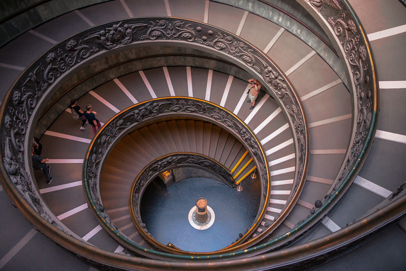 Spiral of the Vatican || Vatican City