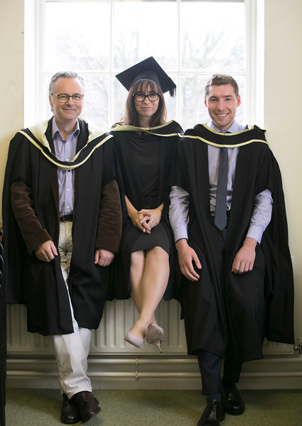 31/10/2018. Waterford Institute of Technology (WIT) Conferring Ceremonies 2018. Pictured are Ray Crowley Fermoy, Karen Boyle Kerry, Ciaran Heffernan Waterford. Picture: Patrick Browne