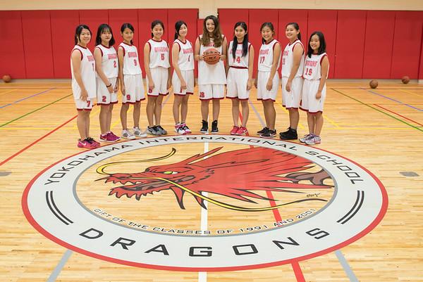 2015 Girls Basketball Team Photos