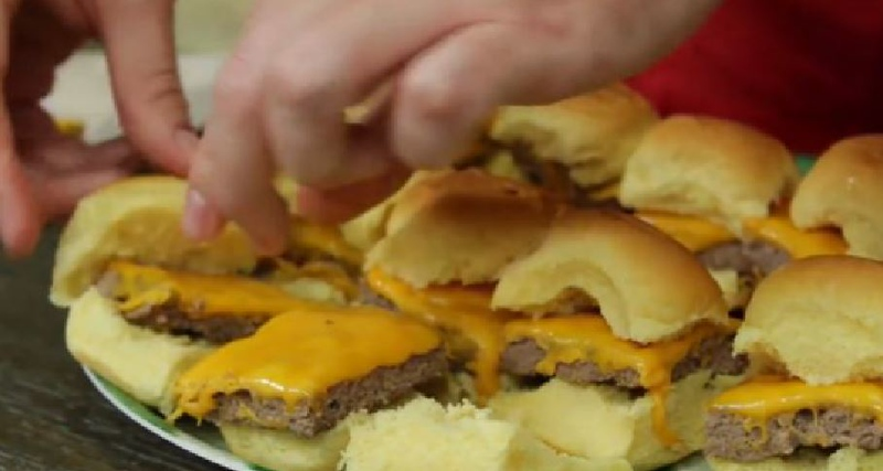 One-Pan Burger Sliders
