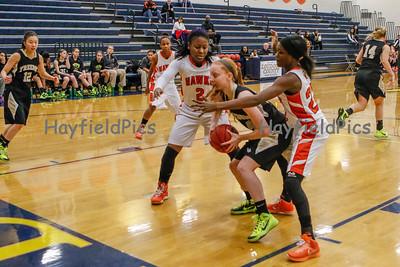Girls Varsity Basketball v Freedom HS 12/29/14