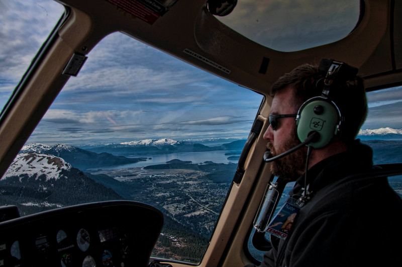 One of Temsco Helicopter's pilots takes us back to Juneau.