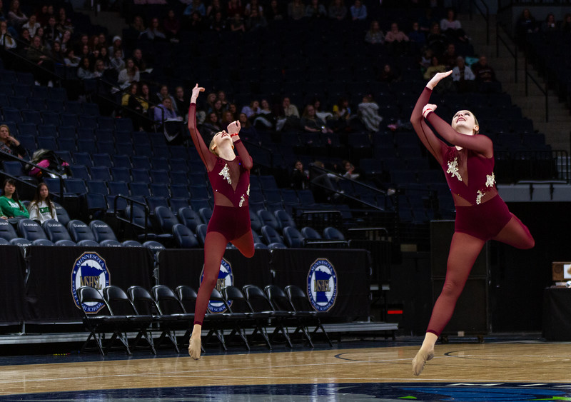 Holy Family's Rachel Thurk '22 at 2020 MSHSL State Jazz Tournament Final - Collin Nawrocki/The Phoenix