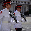 Gibraltar guard mount ceremony under heavy security presence