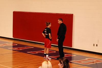Girls Varsity Basketball - 2008-2009 - 3/4/2009 Districts Newaygo JG