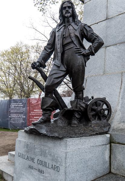 Guillaume Couillard Statue