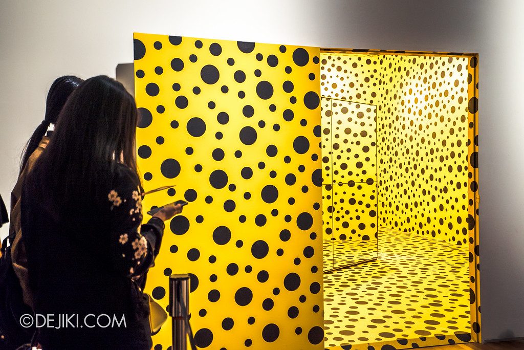 National Gallery Singapore - Yayoi Kusama: Life Is The Heart of A Rainbow / Pumpkin doorway