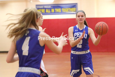 Girls Basketball — Saranac vs. Peru