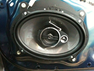 2008 Tacoma Double Cab Front Speaker Installation