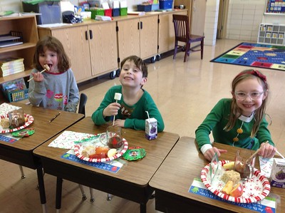 First Grade Christmas Party 2018
